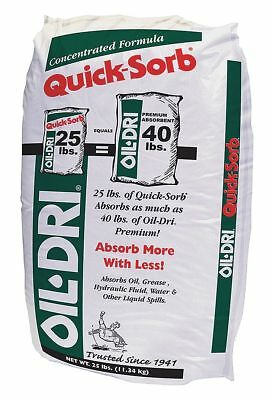 Oil-Dri Granular Clay Universal Absorbent, Container Size: 25 lb., Fluids