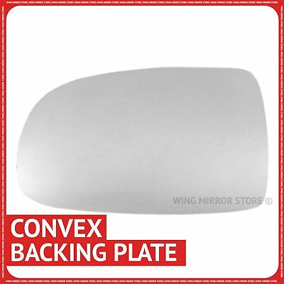Left hand passenger side for Vauxhall Corsa C 2001-06 wing mirror glass + plate