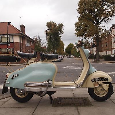 1957 Lambretta LD150 Classic, Original UK Supplied Scooter, 7 Keepers, Buff Book