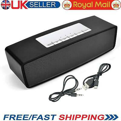 Mini Wireless Bluetooth Speaker Loud Stereo Mp3 Sound Box Portable Boombox Aux