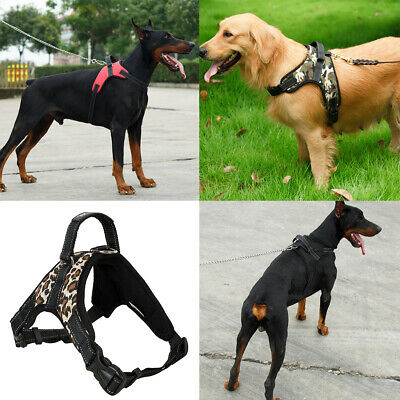 Heavy Duty No Pull Pet Vest Harness Padded Chest Strap for Large Medium Dog S-XL