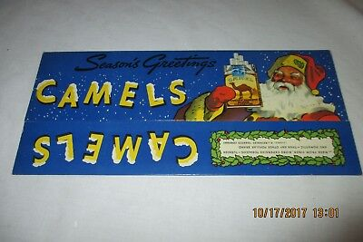 1930/40s CAMELS Cigarettes Christmas Carton Sleeve