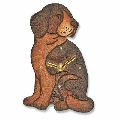 Dog Wood Magnet Clock DFA3014