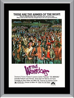 The Warriors Movie A1 To A4 Size Poster Prints