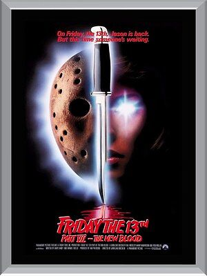 Friday the 13th Part 7 A1 To A4 Size Poster Prints