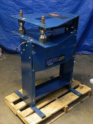"Metal Pro 12 Ton Hydraulic Pipe Bender 1/4"" to 2"" Capacity 110v MP9000 REPAIR"