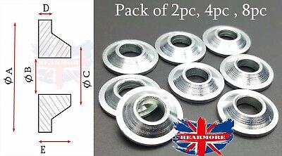 M6 MISALIGNMENT SPACERS  FOR ROD ENDS WASHER METRIC MM SIZE Pack of 2pc 4pc 8pc