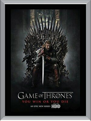Game Of Thrones You Win Or You Die A1 To A4 Size Poster Prints