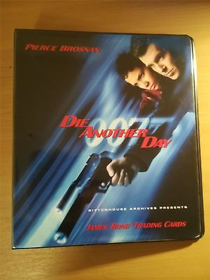 James Bond Die Another Day Official Rittenhouse Binder