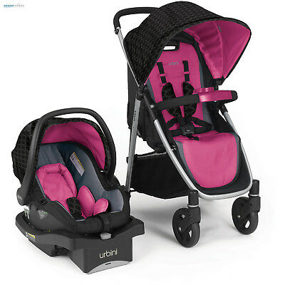 Car Seat Stroller Combo Baby Girl Travel System Infant Accessories Child Cart