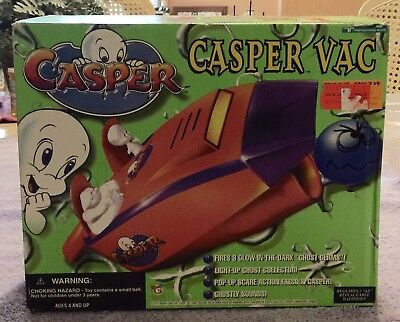 Casper Vac By Trendmasters 1997 Harvey Comics