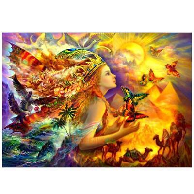 5D Butterfly Fairy Diamond Painting Embroidery DIY Cross Stitch Craft Home Decor