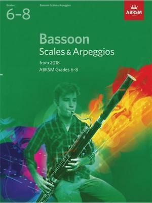 Bassoon Scales & Arps Gr 6-8 From 2018
