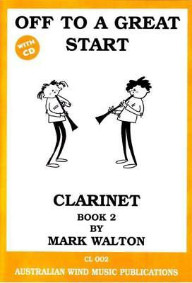 Off To A Great Start Clarinet Bk 2 Bk/Cd