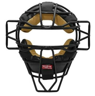 Rawlings Catcher Umpire Facemask Helmet Adult Hollow Wire Mask Baseball LWMX-B