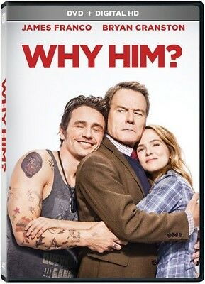 Why Him (DVD, 2017) NEW