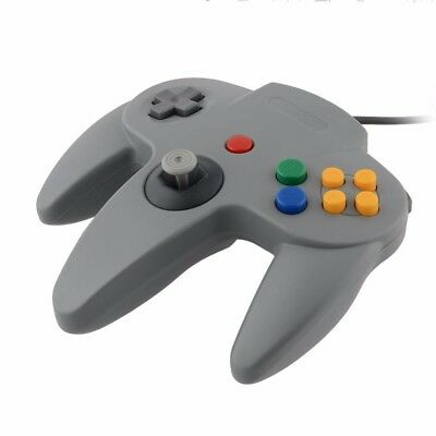 NEW Controller Game Pad Joystick System for Nintendo 64 N64 Console 6-Foot Gray