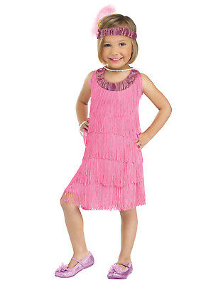 Flapper Pink Toddler Costume