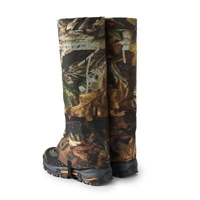 2pcs L Camo Outdoor Waterproof Snow Legging Gaiters Shoe Gaiters Boot Cover