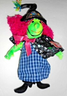 Ty Beanie Babies Collection Halloween Scary Witch Doll Plush 2001 Vintage #29