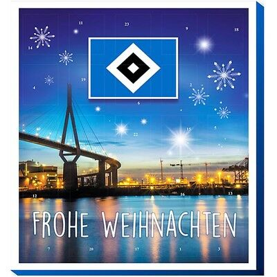 HSV Adventskalender 2017 Hamburger SV Logo Skyline Hamburg Maskottchen Hermann