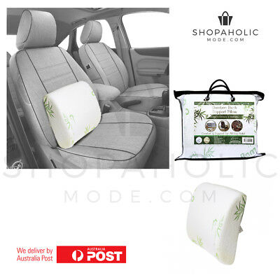 Bamboo Memory Foam Back Support Posture Back Hip Support Lumbar Car Cushion