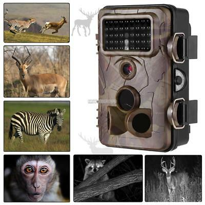 120°Wide 1080P HD Hunting Scouting Game Trail Camera 12MP Infrared Night Vision