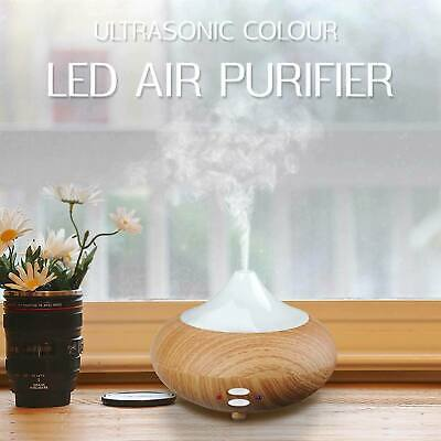 Essential Oil Diffuser LED Aroma Diffuser Steam Electric Ultrasonic Cool Mist UK