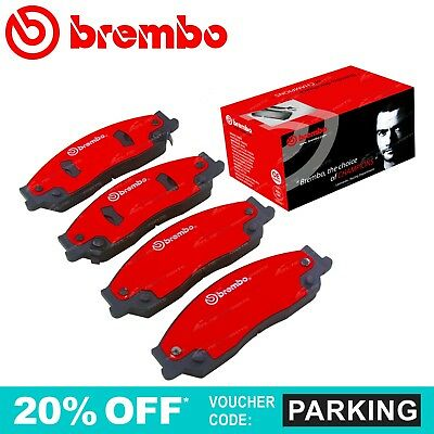 Brembo Front Disc Brake Pads Set suits Toyota Camry ACV36R MCV36R 9/2002~6/2006