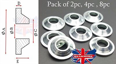 M16 MISALIGNMENT SPACERS FOR ROD ENDS WASHER METRIC MM SIZE Pack of 2pc 4pc 8pc