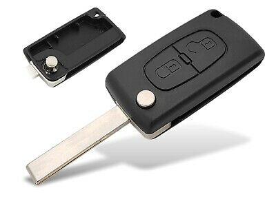 02B Fits Peugeot 207SW 308SW 3008 5008 Replacement 2 buttons FOB REMOTE KEY Case