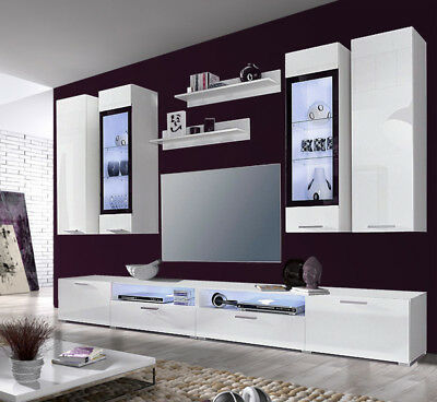 ikea magika wohnzimmer wand 3 teilig ahorn optik. Black Bedroom Furniture Sets. Home Design Ideas