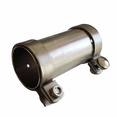 """60/"""" 40mm x 1.5mm x 1500mm T304 Stainless Steel Tube Pipe Exhaust Repair 1.5M"""