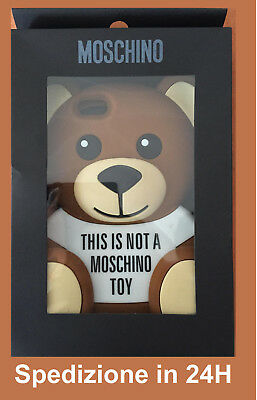 Cover Iphone moschino teddy bear per iphone 5. 5S. 6. 6S. 7. 8. 6Pls. 7Pls. 8Pls