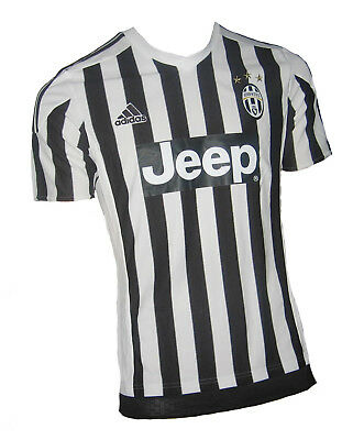 JUVENTUS SHIRT 2015 16 Home Adidas Jersey Soccer Italy XS S M ... 5ae5f3018