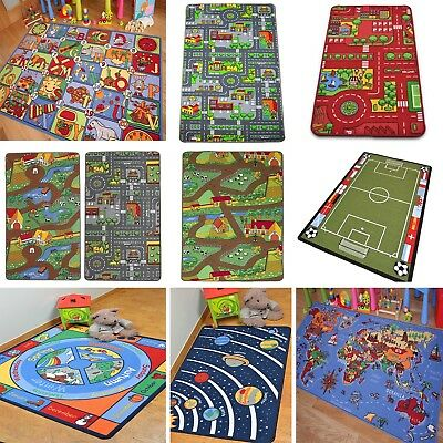 Kids Play Mats Roads Farm Letters Children Carpet Educational Fun Rug Floor Mat