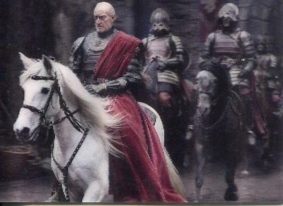 Game Of Thrones Valyrian Steel 3d Lenticular Chase Card L05 Tywin arrives at Ha