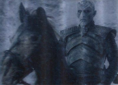 Game Of Thrones Valyrian Steel 3d Lenticular Chase Card L16 Encounter with the