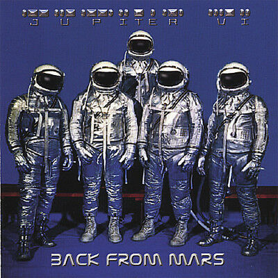 Jupiter VI - Back from Mars [New CD]