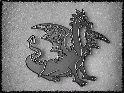 Mythical Dragon Metal Cutting Die,Fantasy,Cartoon,Craft,Card Making,Scrapbook