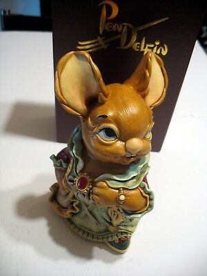 NEW Pendelfin Aunt Ruby figurine rabbit Bunny w/ Box and COA Certificate