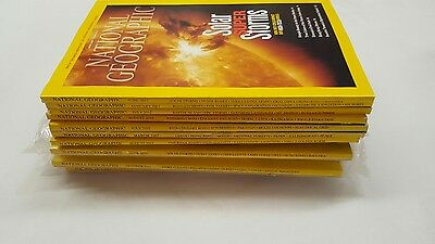 National geographic magazines 14 issue bundle mostly 2012 (3)