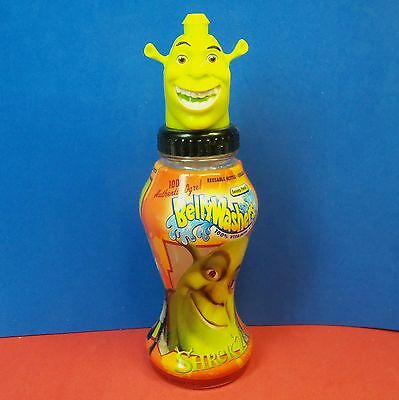 SHREK 2 Bellywashers Belly Washers Character Bottle 2004
