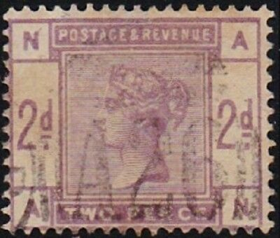 GB Used Abroad in GIBRALTAR A26 2d. lilac.