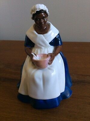 Royal Doulton Black Americana Governors Cook Hn 2233 Williamsburg Mammy Slavery