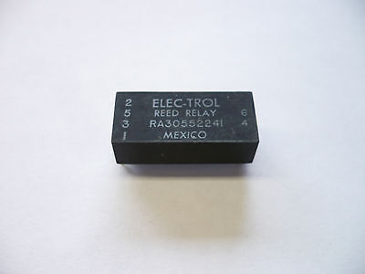 160 Pcs Elec-Trol Reed Relay Ra30552241 24 Volt, Removed From Circuit Boards