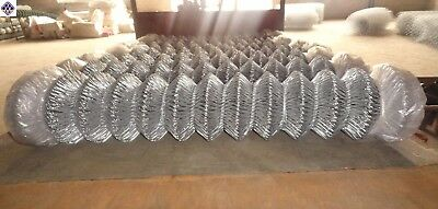 Galvanized Chain link wire mesh fence  1.83m*10m*50mm*50mm*2.5mm