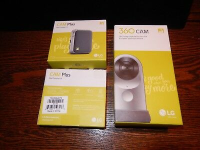 LG G5 360 CAM Bundle Cam Plus X's 2 Spherical Camera Wide-Angle 2K Video LG-R105
