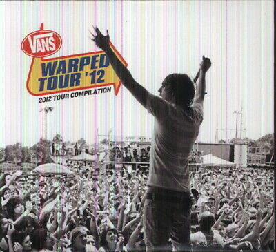 Various Artists - 2012 Warped Tour Compilation [New CD] Digipack Packaging