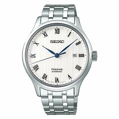 SEIKO 5 SNZG13 SNZG13J1 Army Automatic Black Dial Stainless Steel Men's Watch